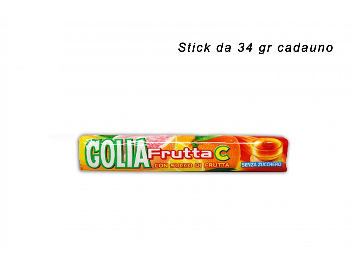GOLIA FRUTTA C STICK 34 GR