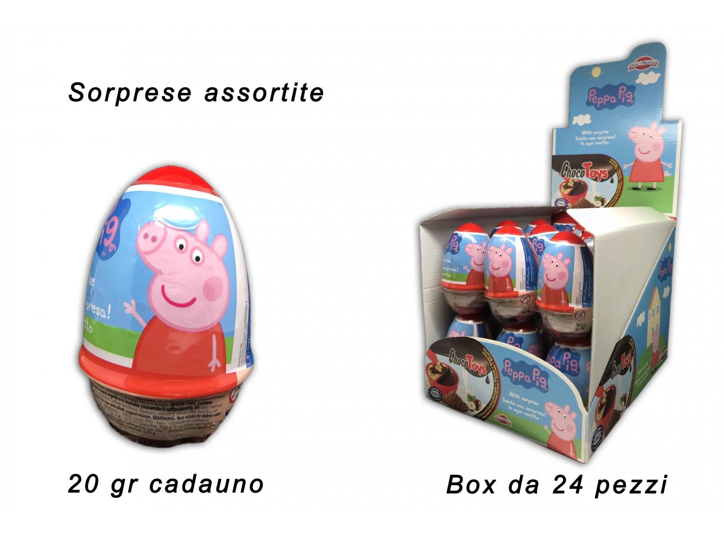 OVETTO CHOCOTOYS PEPPA PIG...