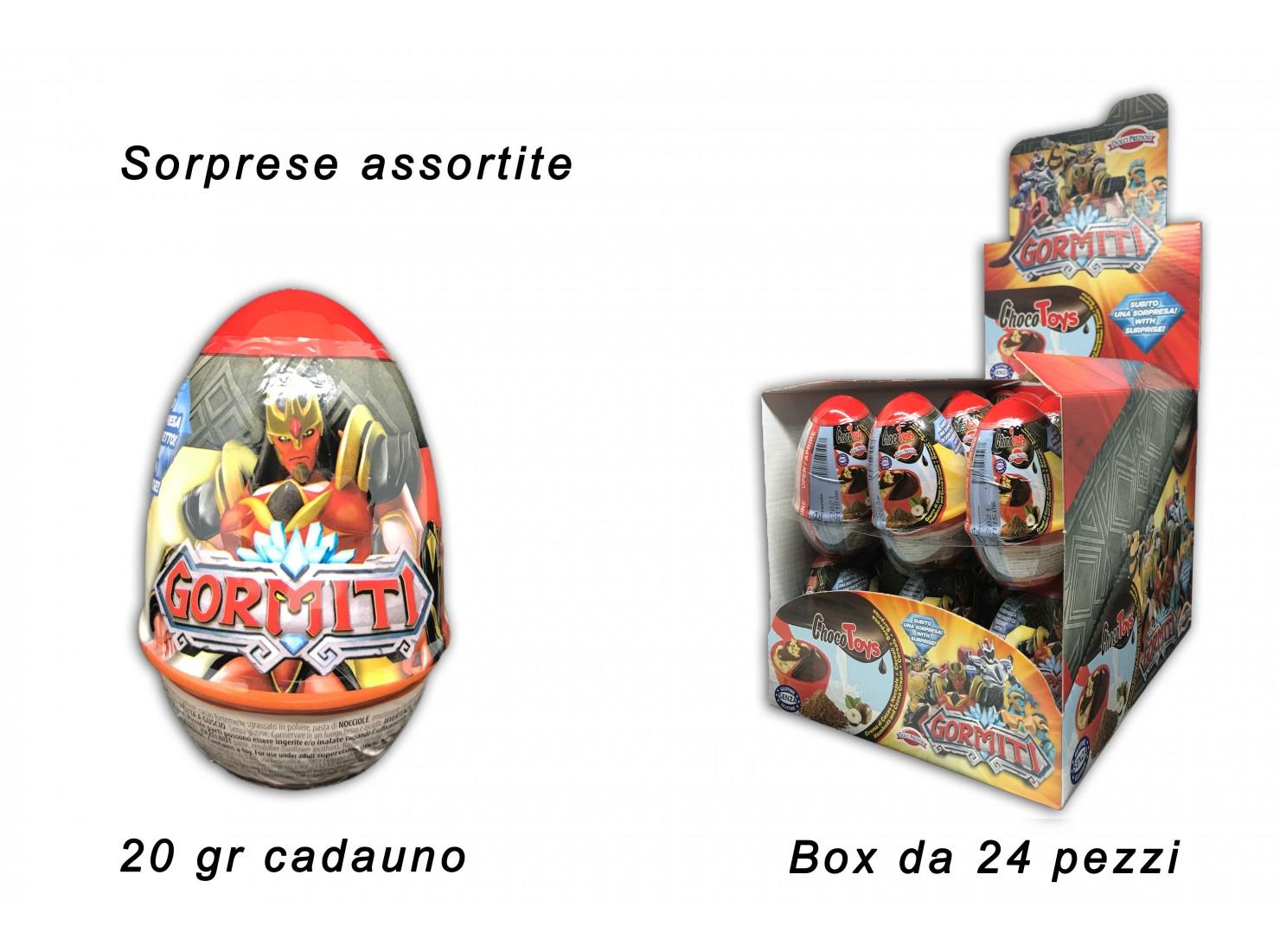 OVETTO CHOCOTOYS GORMITI 20 GR