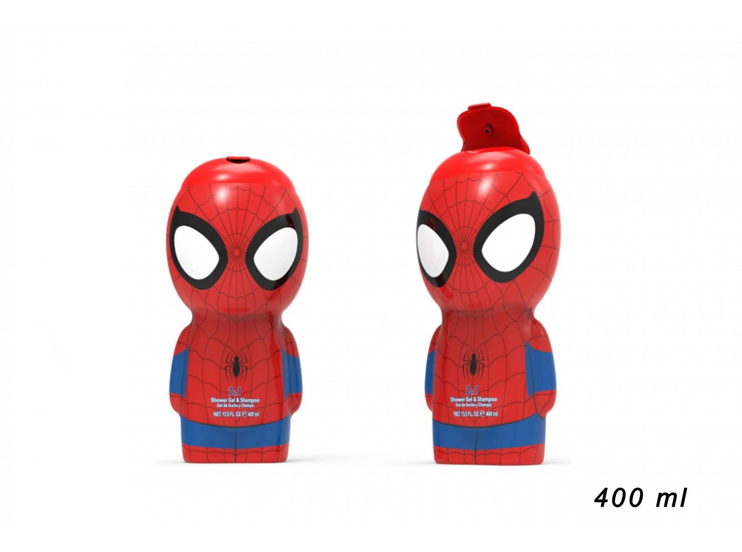 SPIDERMAN SHOWGEL 2D 400 ML