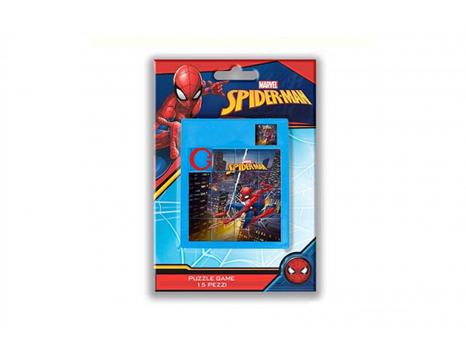 PUZZLE GAME SPIDERMAN BLISTER