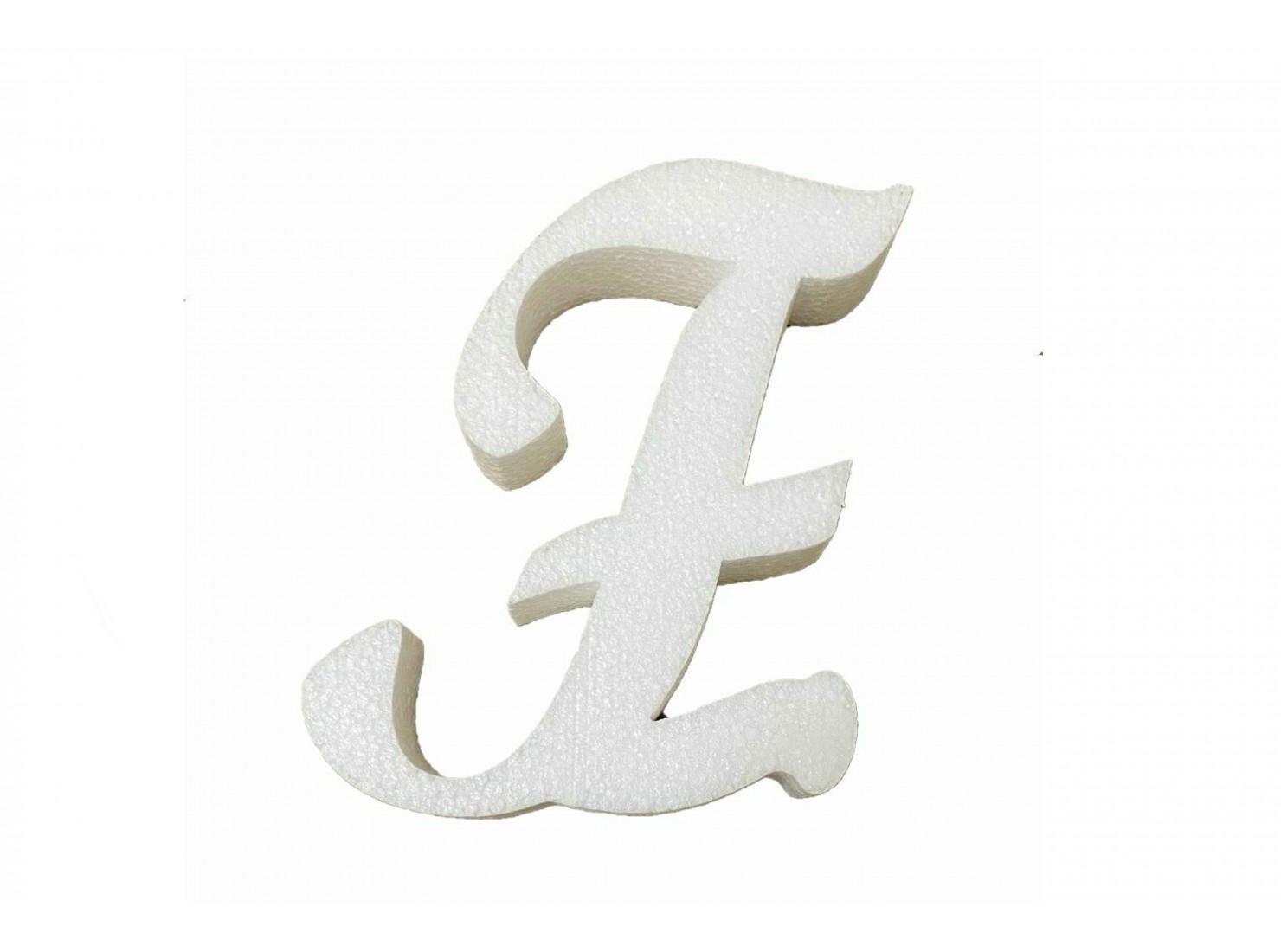 LETTERA CORSIVO ''F''...