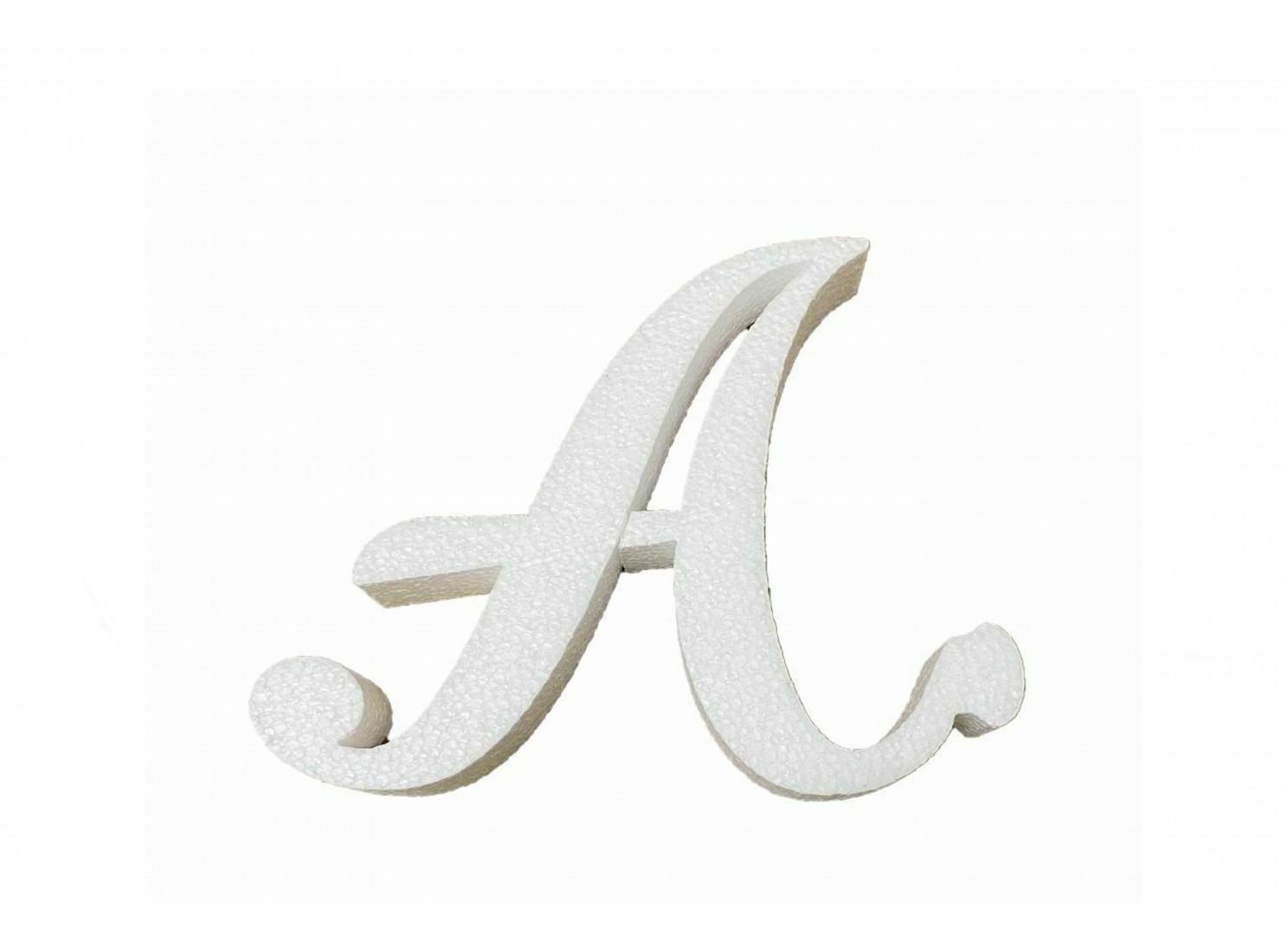 LETTERA CORSIVO ''A''...