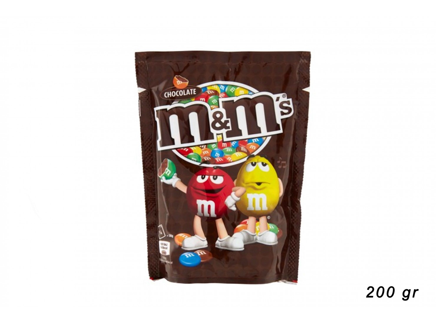 M&M'S CHOCO 200 GR
