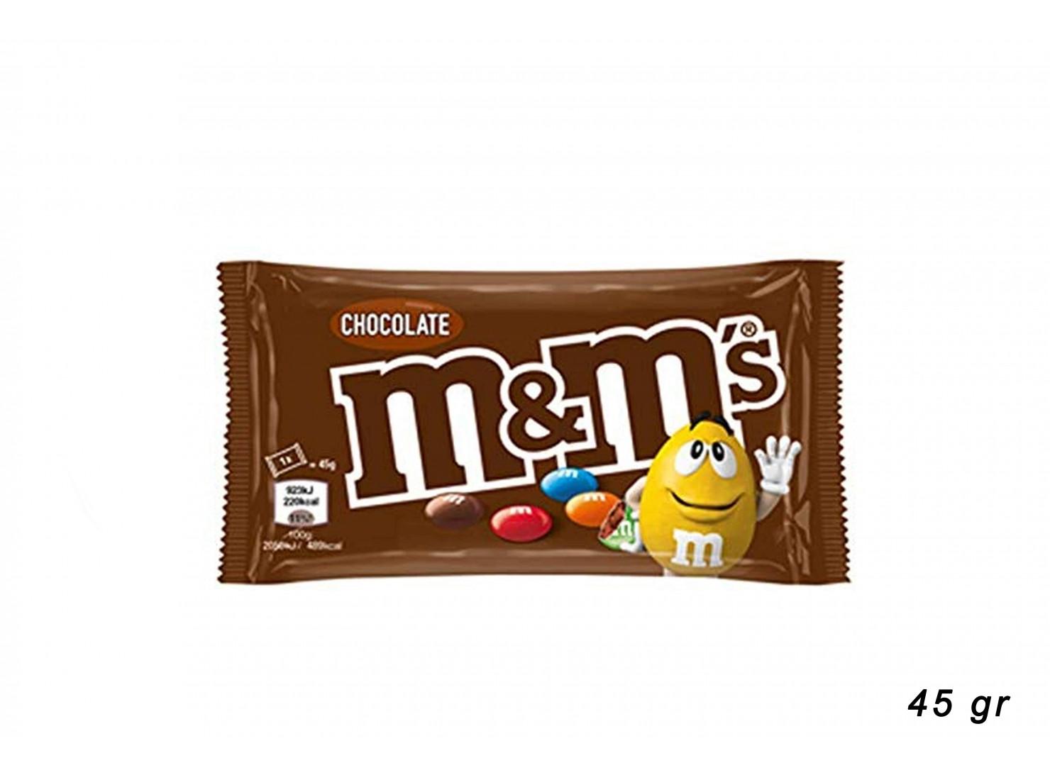 M&M'S CHOCO SINGOLO 45 GR