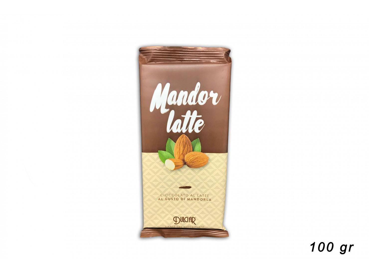 TAVOLETTA MANDORLATTE 100...