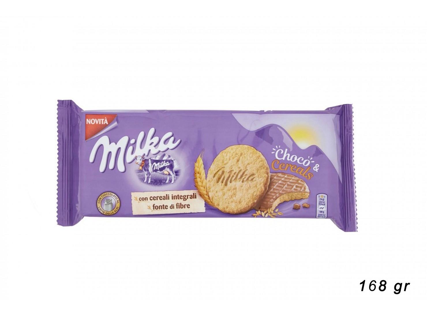 MILKA CHOCO&CEREALS 168 GR