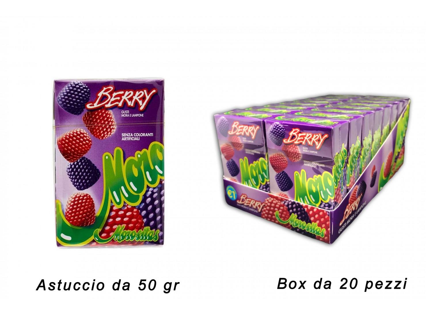 MOROSITAS BERRY ASTUCCIO 50 GR