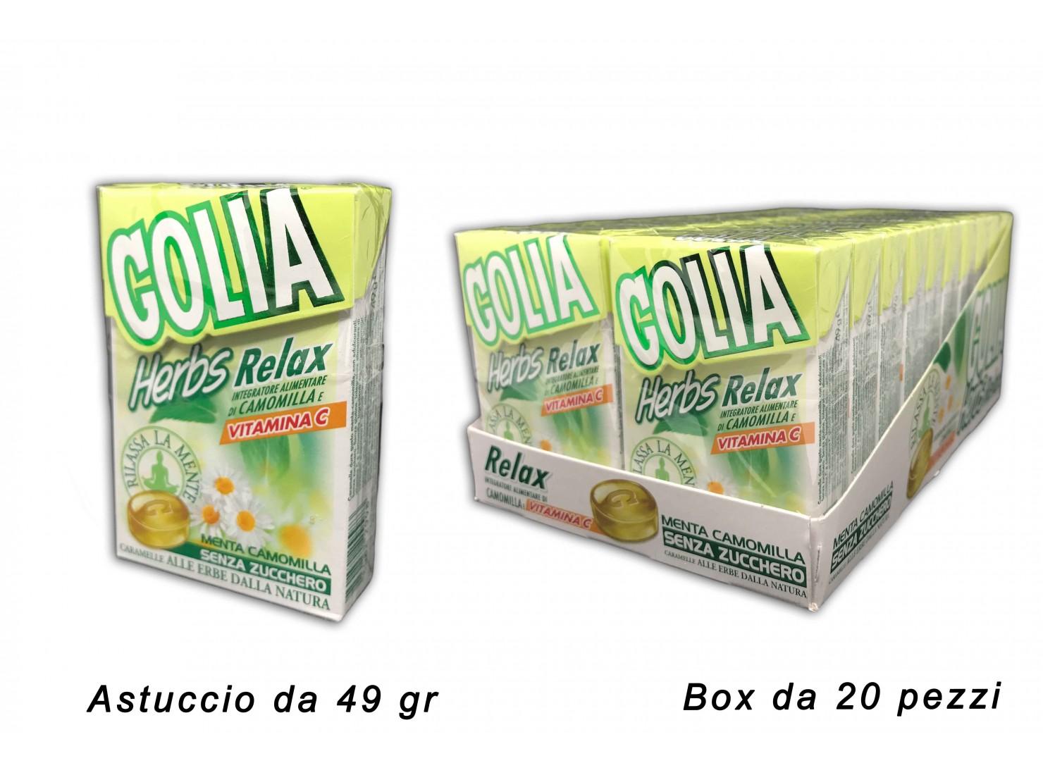 GOLIA ERBE RELAX ASTUCCIO...