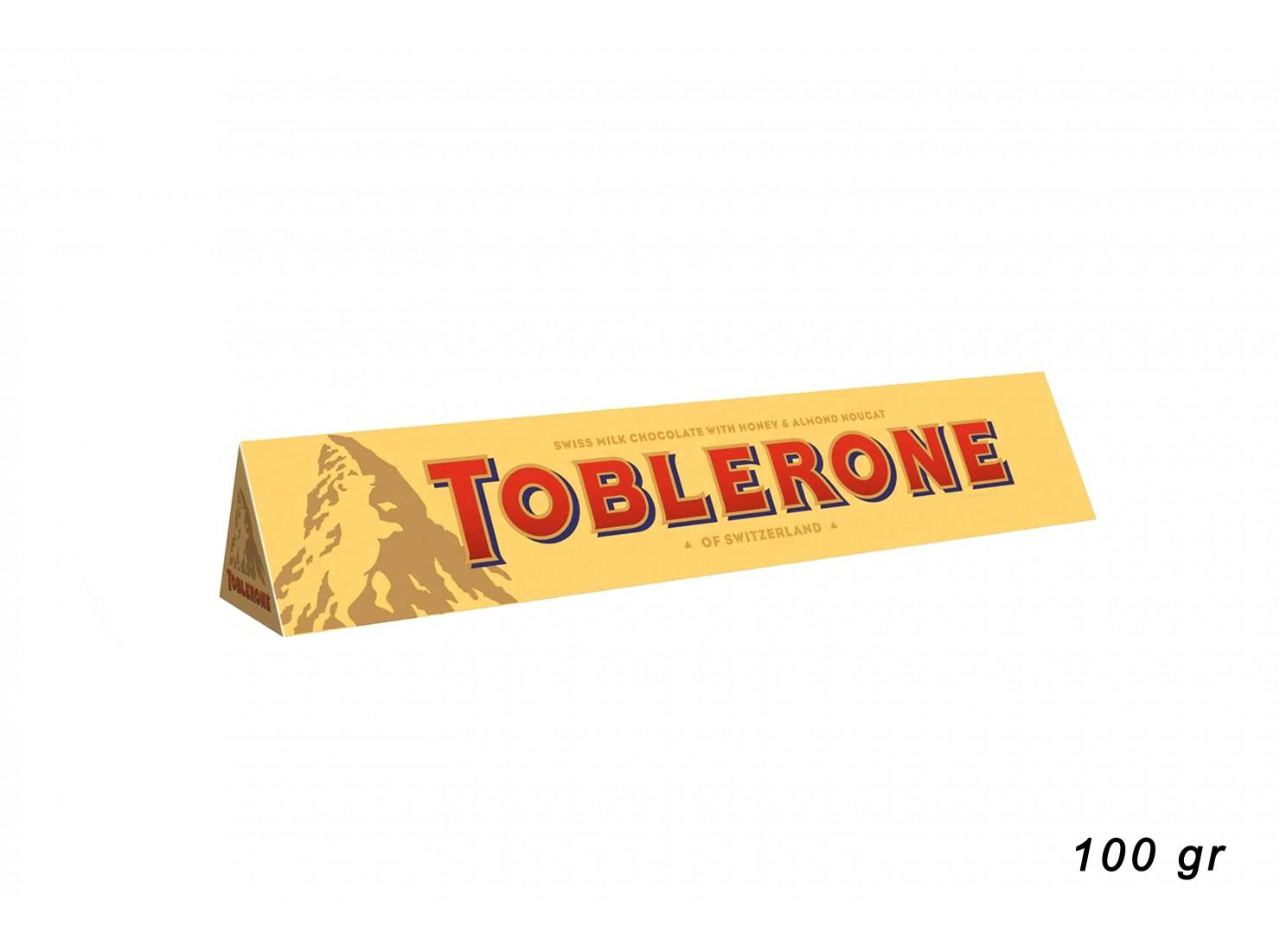TOBLERONE MILK 100 GR
