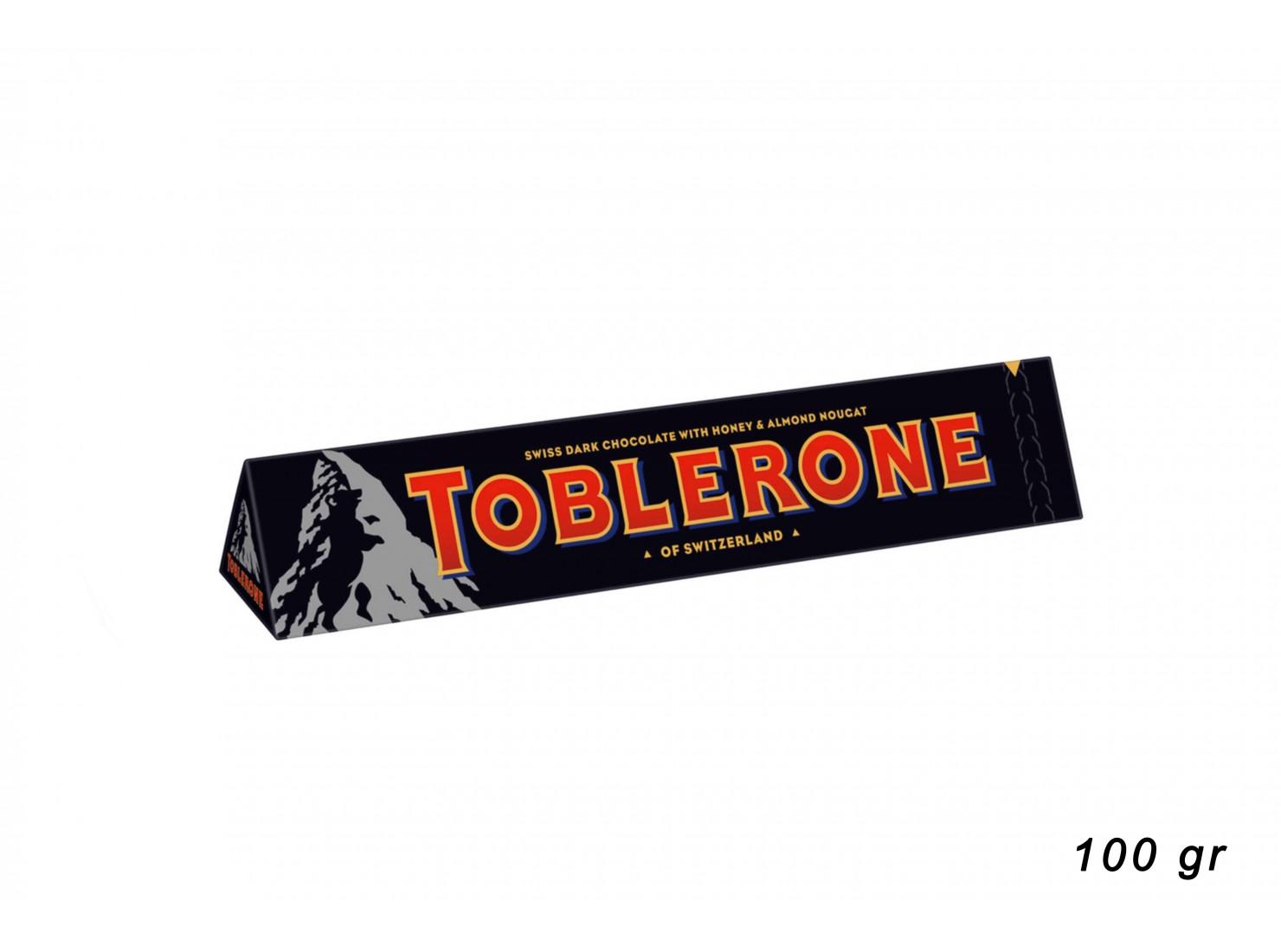 TOBLERONE DARK 100 GR