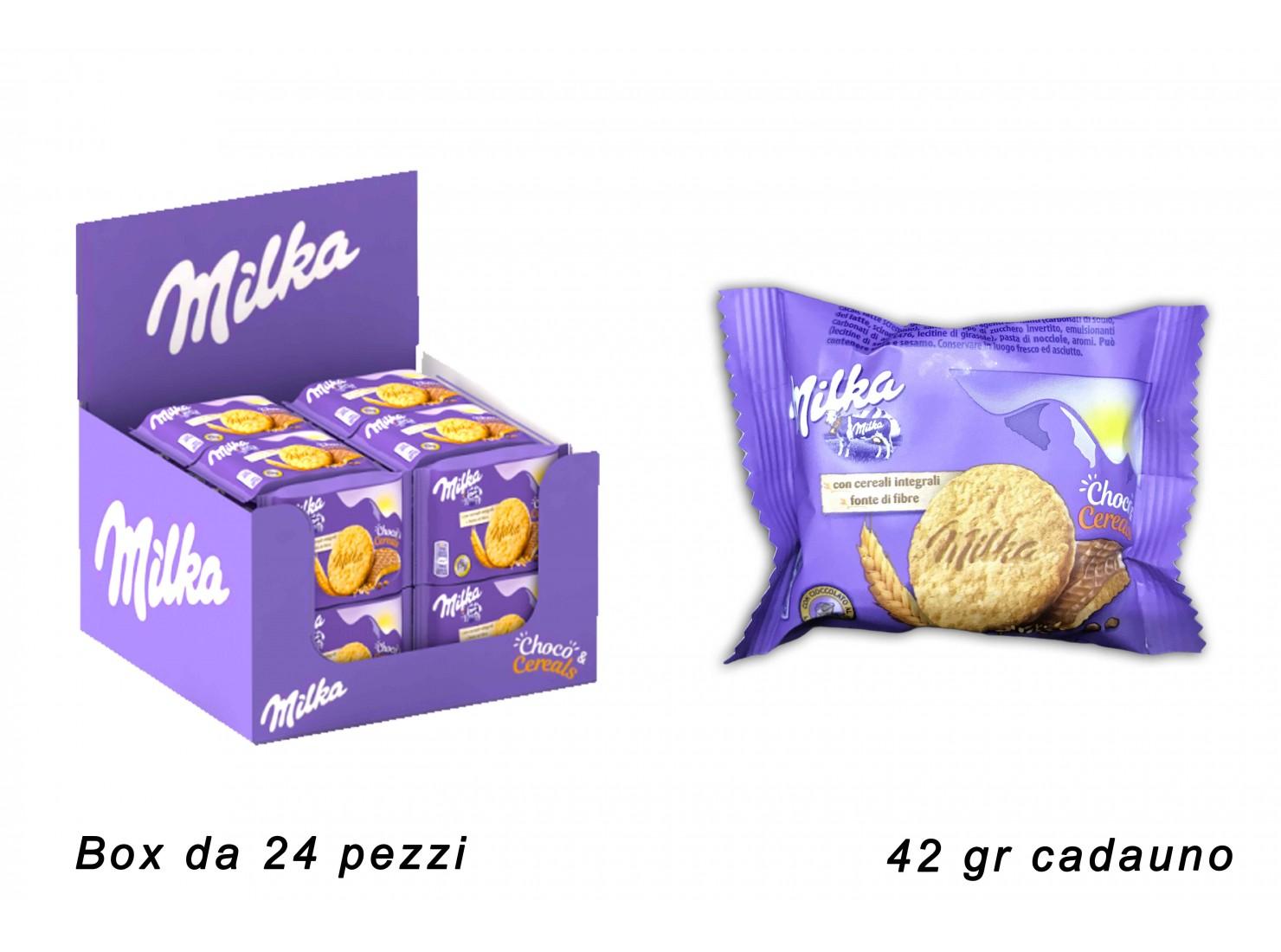 MILKA CHOCO&CEREALS 42 GR