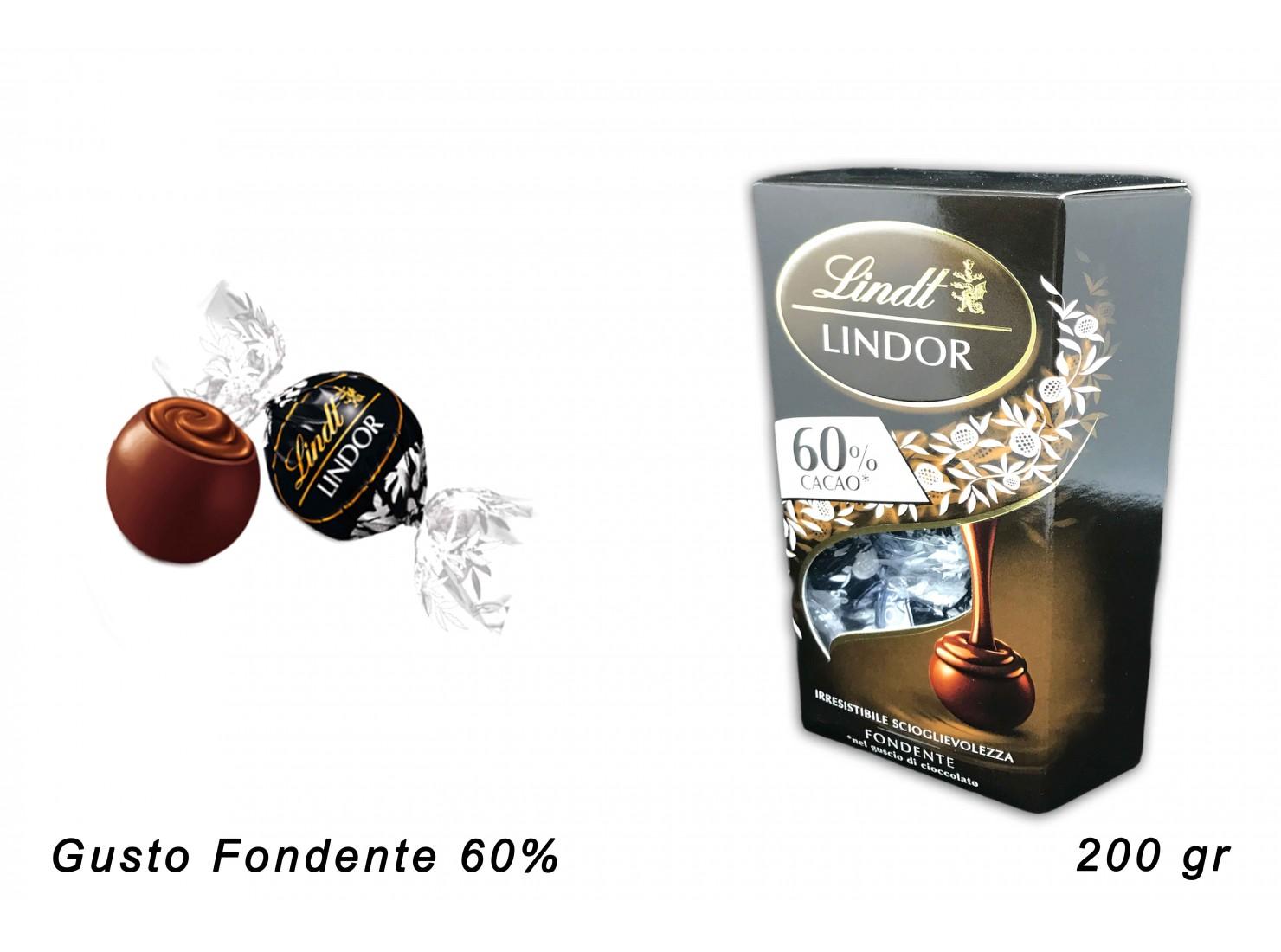 LINDOR CORNET 60% FONDENTE...