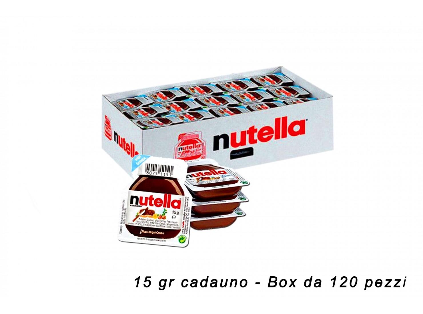 NUTELLA MONOPORZIONE 15 GR