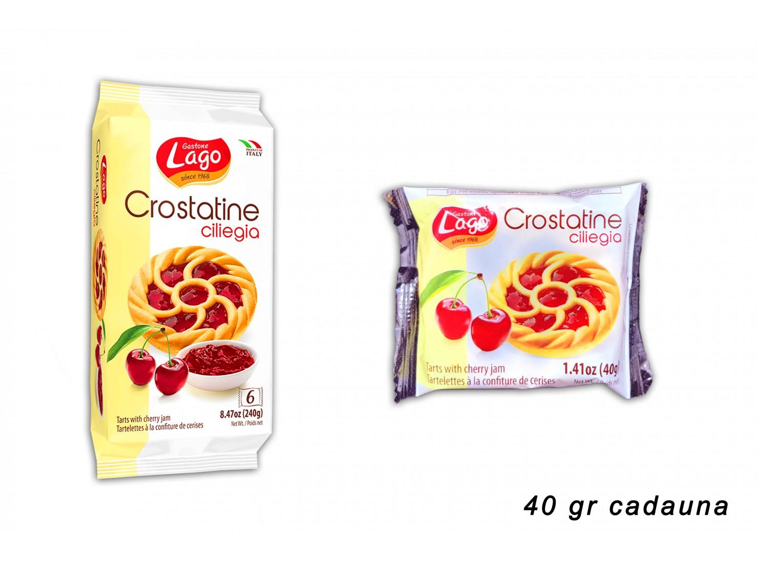 CROSTATINE CILIEGIA 40 GR