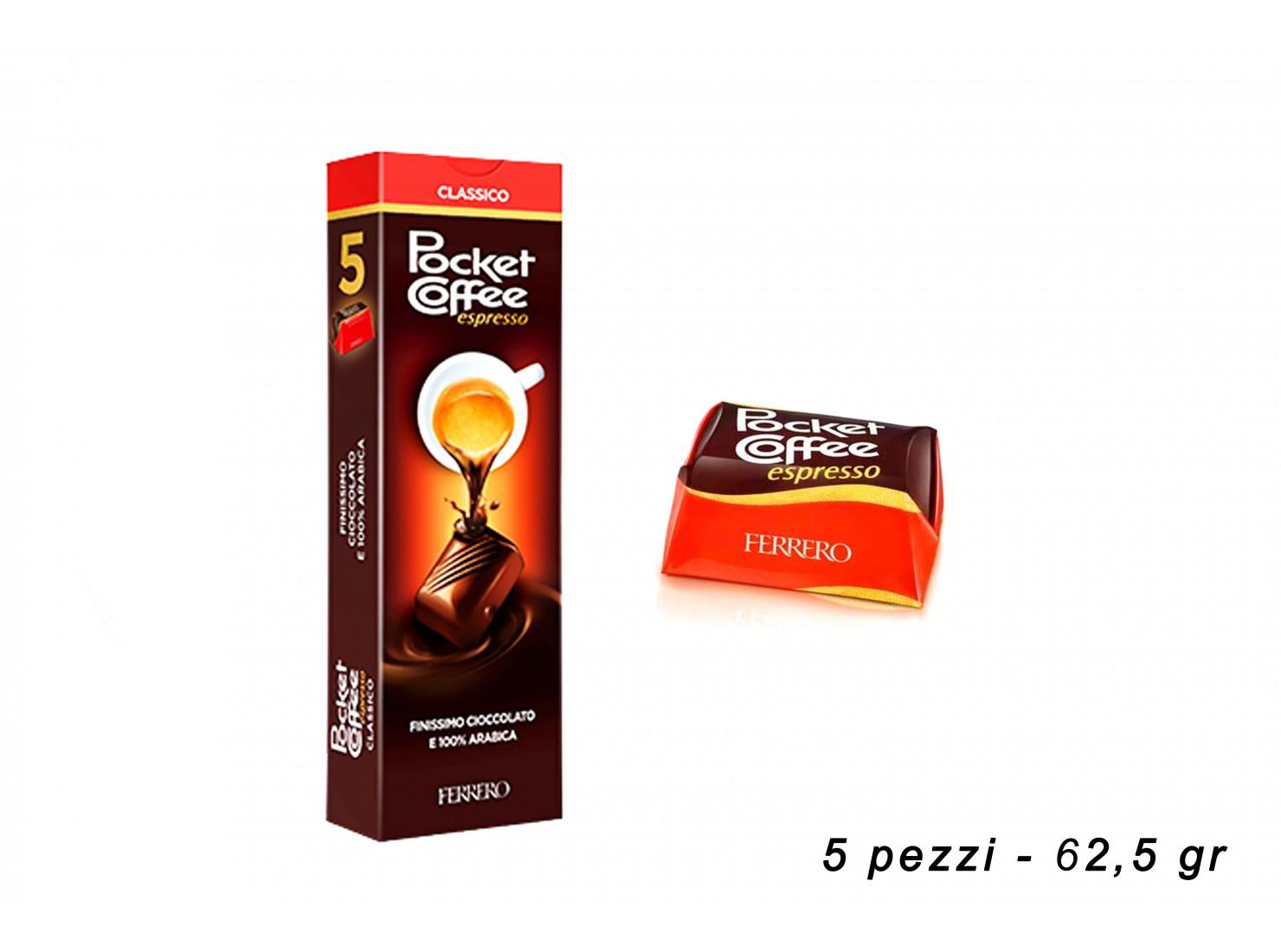 POCKET COFFEE ESPRESSO 5 PZ...