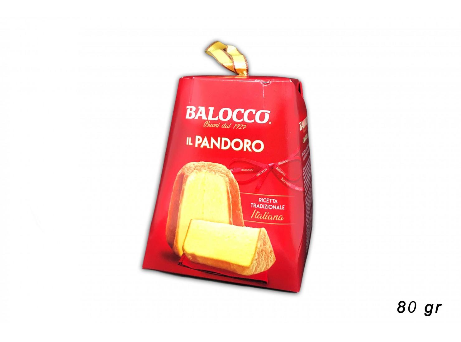 BALOCCO MINI PANDORO 80 GR
