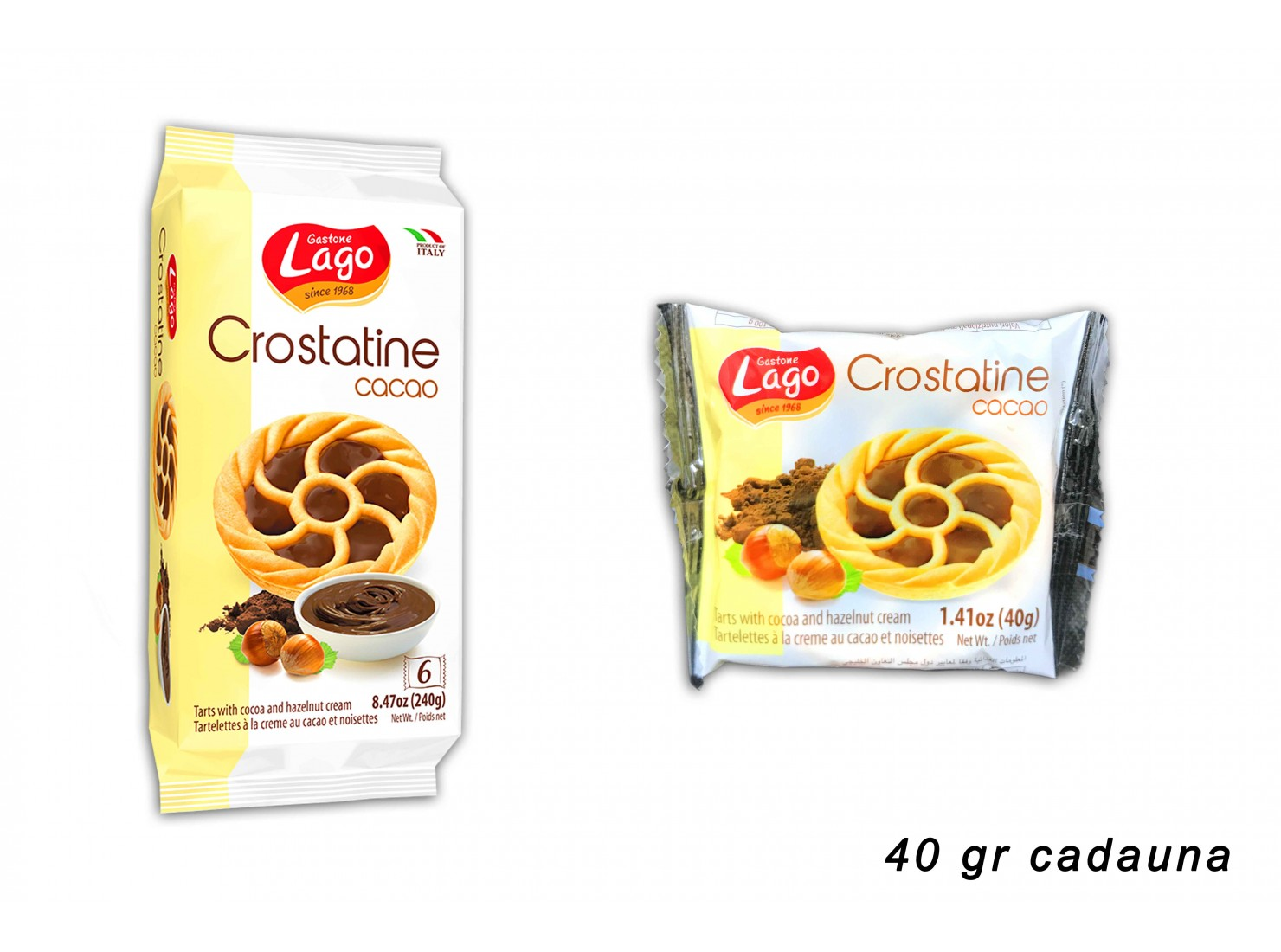 CROSTATINE CACAO 40 GR