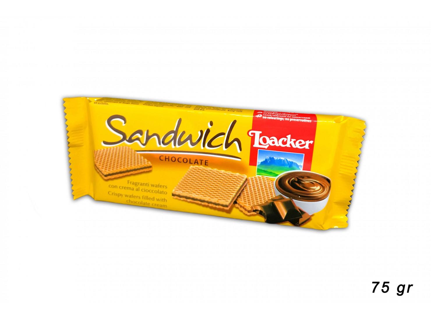 LOACKER SANDWICH CHOCOLATE...