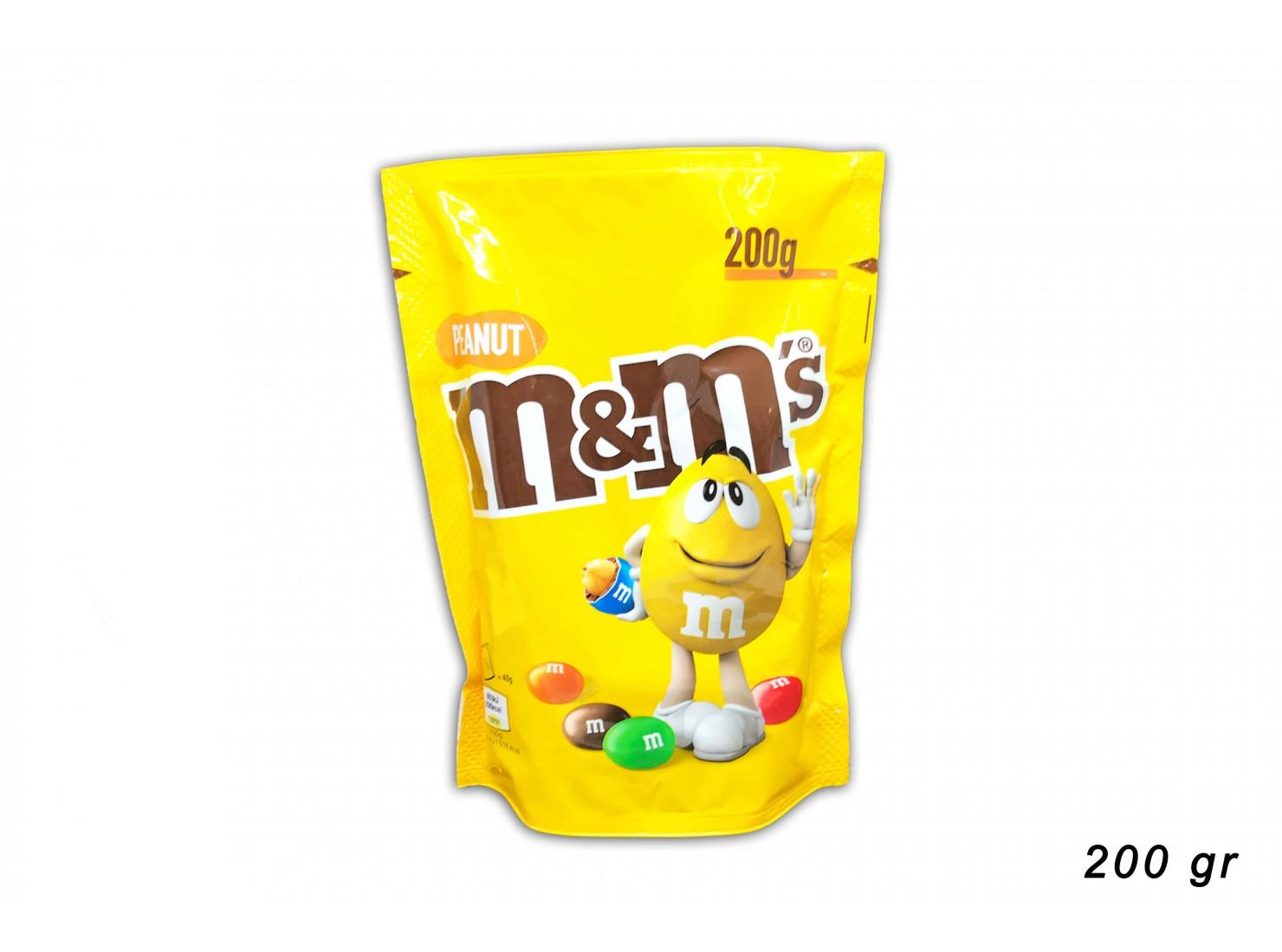 M&M'S PEANUT 200 GR