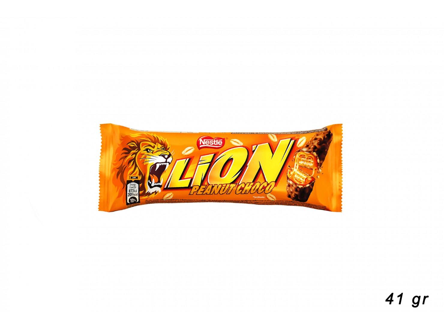 NESTLE LION PEANUT CHOCO 41GR