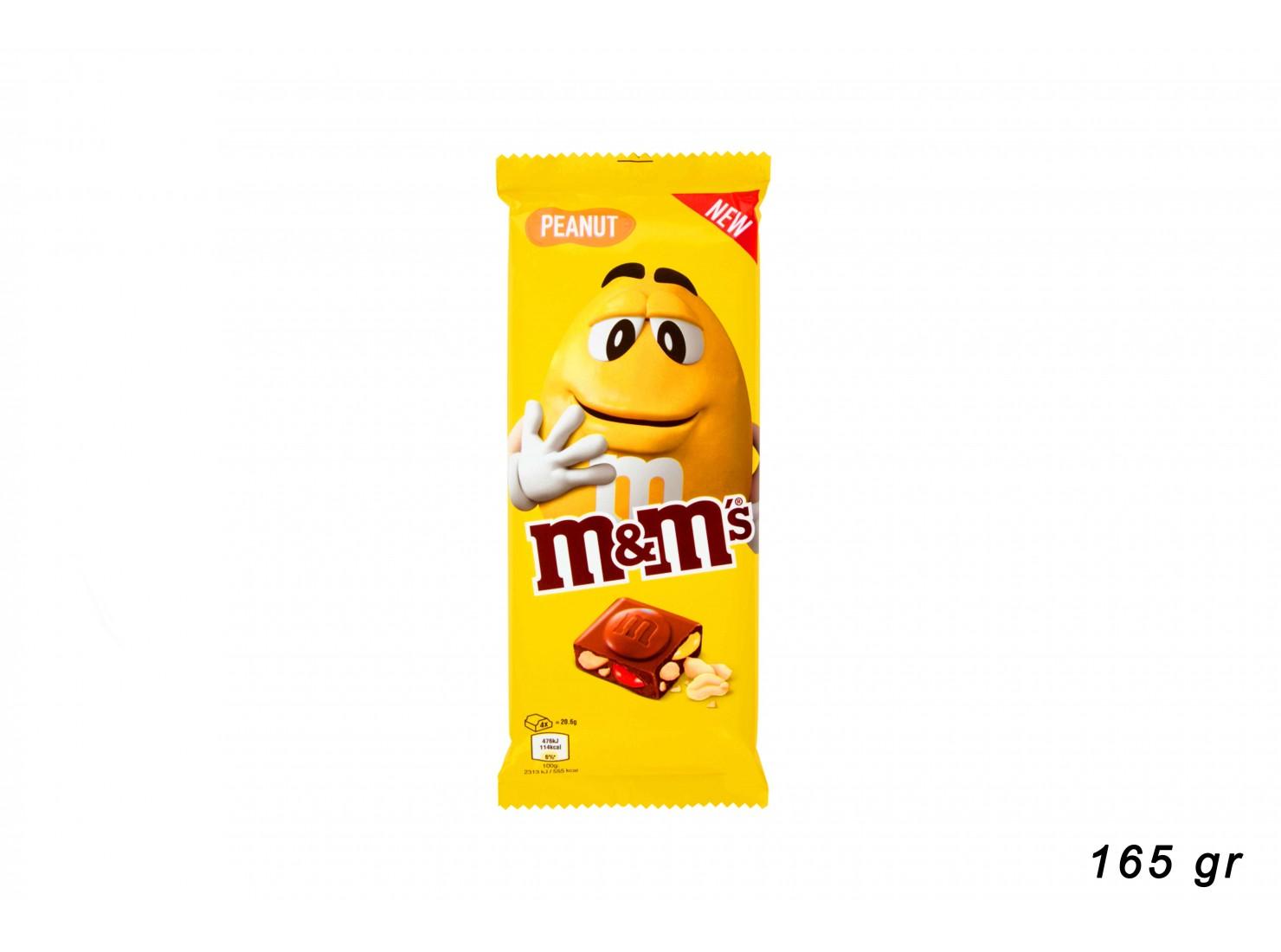 M&M'S PEANUT BARR. 165GR