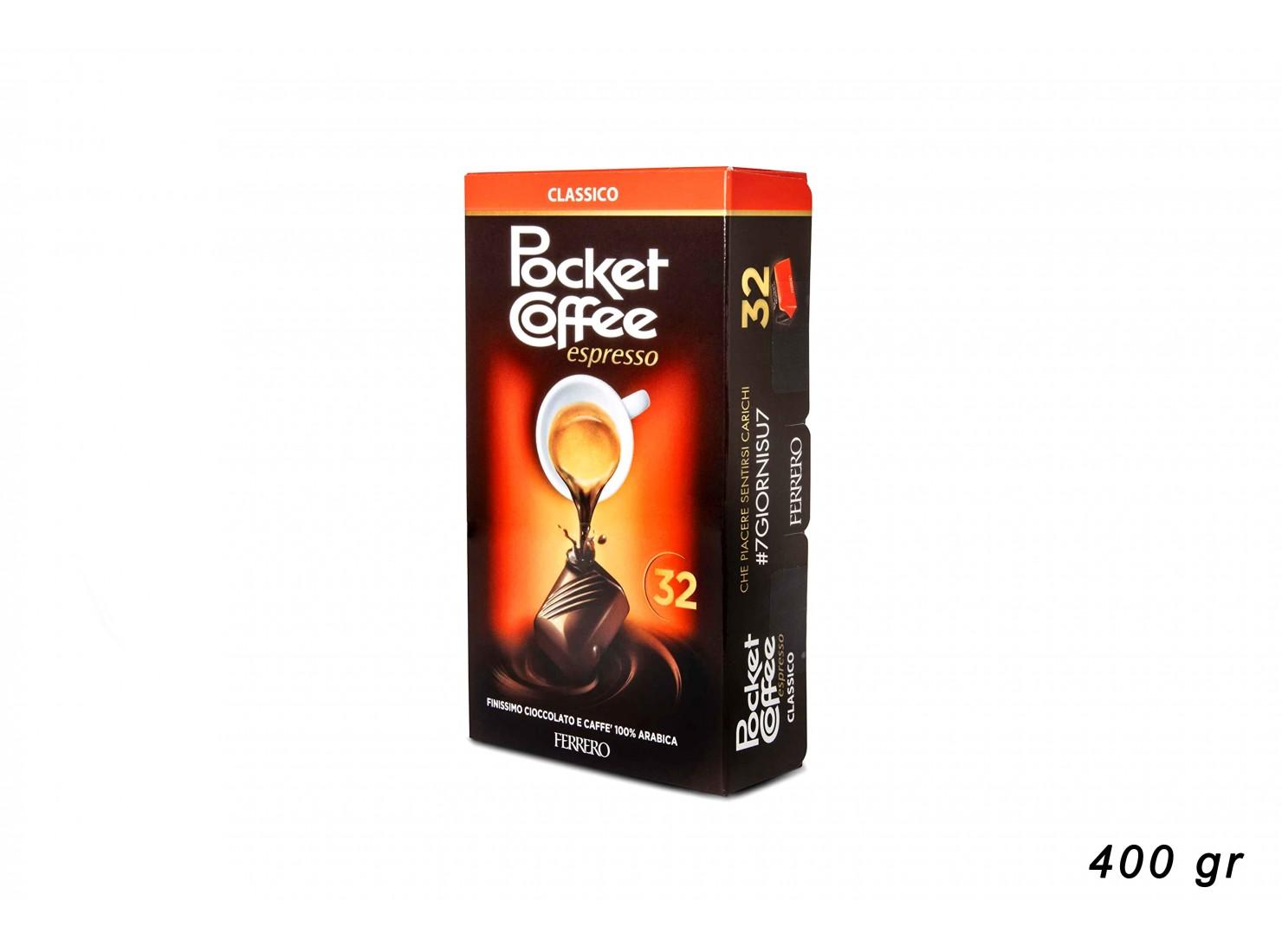 FERRERO POCKET COFFEE 32 PZ...