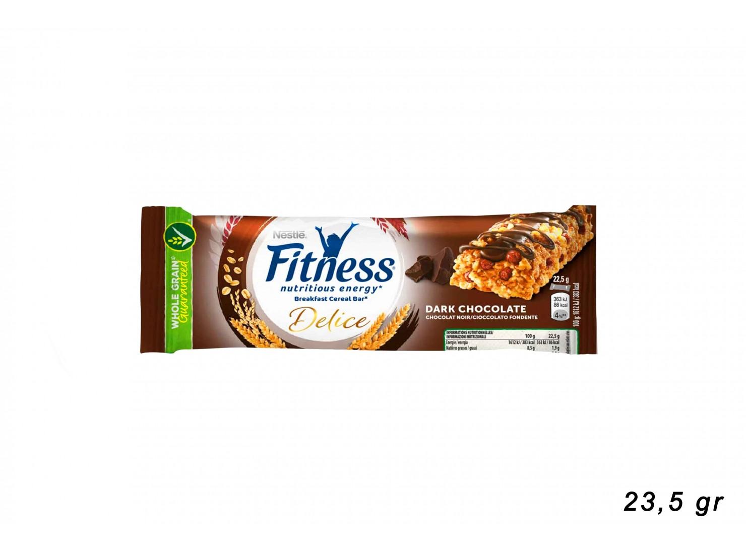 FITNESS DARK CHOCOLATE 22,5 GR