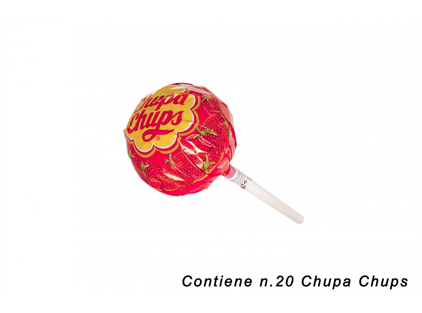 CHUPA CHUPS SUPER FRAGOLA
