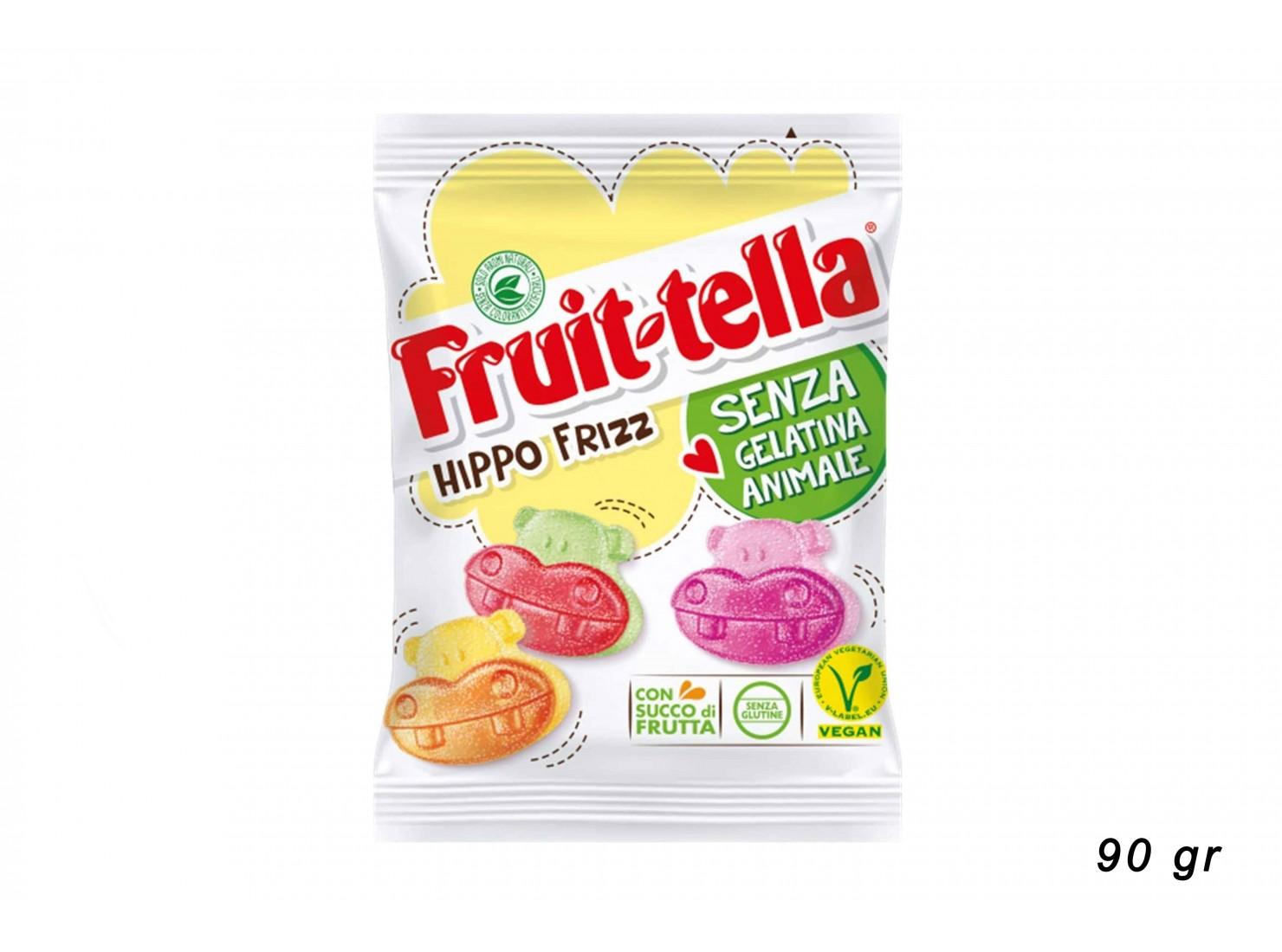 "FRUITTELLA ""HIPPO FRIZZ"" 90 GR"