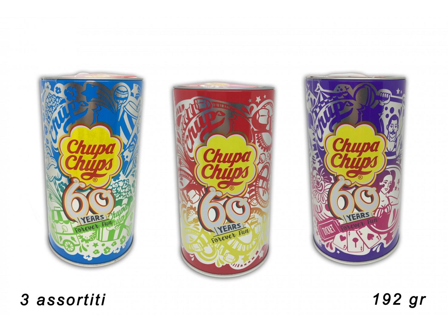 CHUPA CHUPS MINI TIN 60¦...