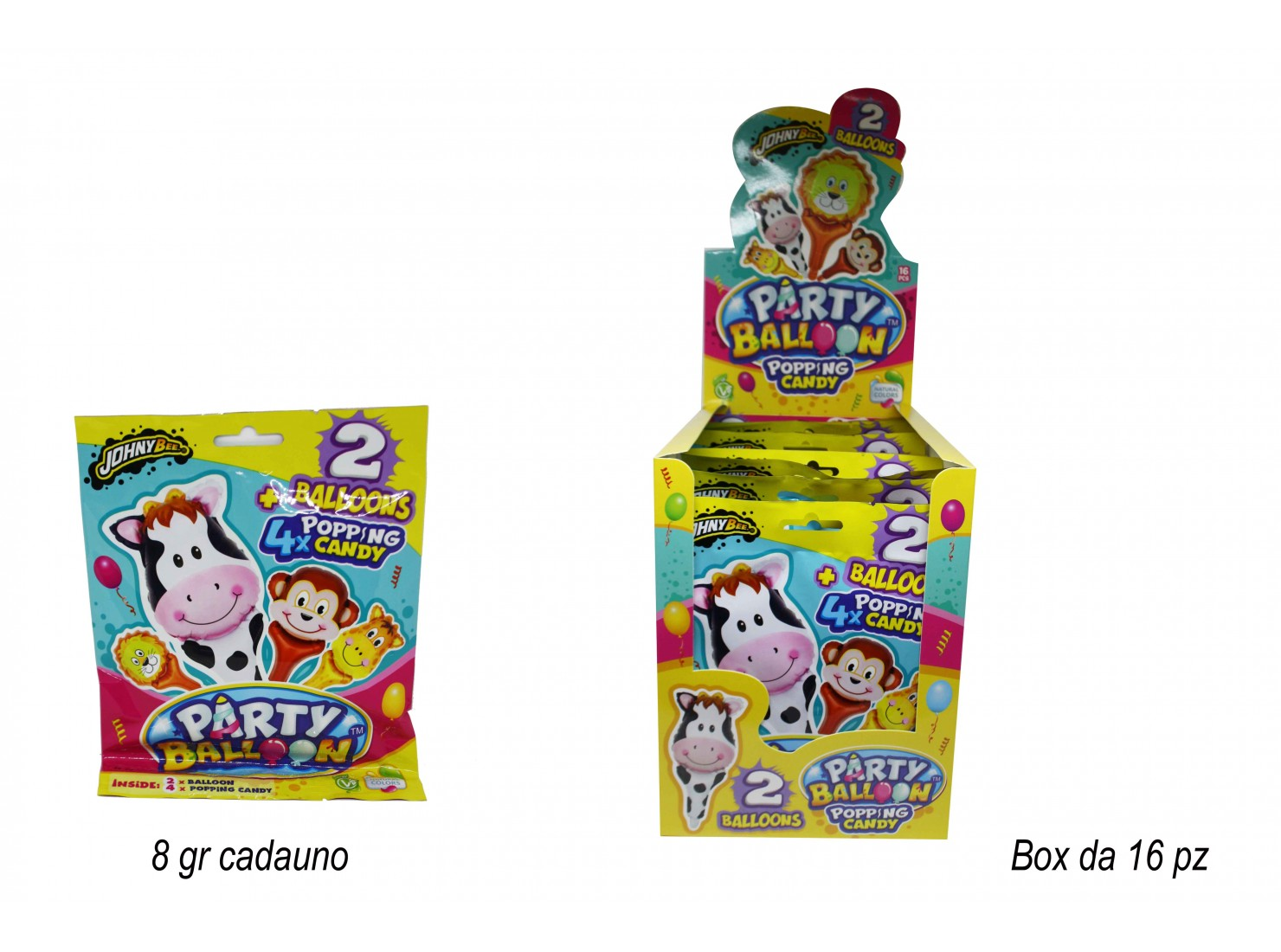 POPPING CANDY PARTY BALOON