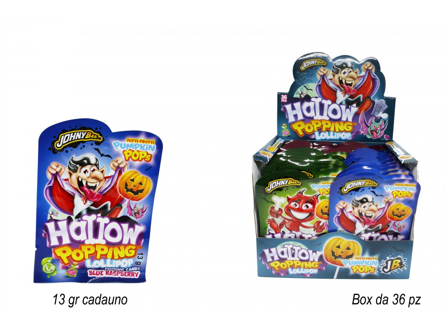 POPPING CANDY/POP HALLOW