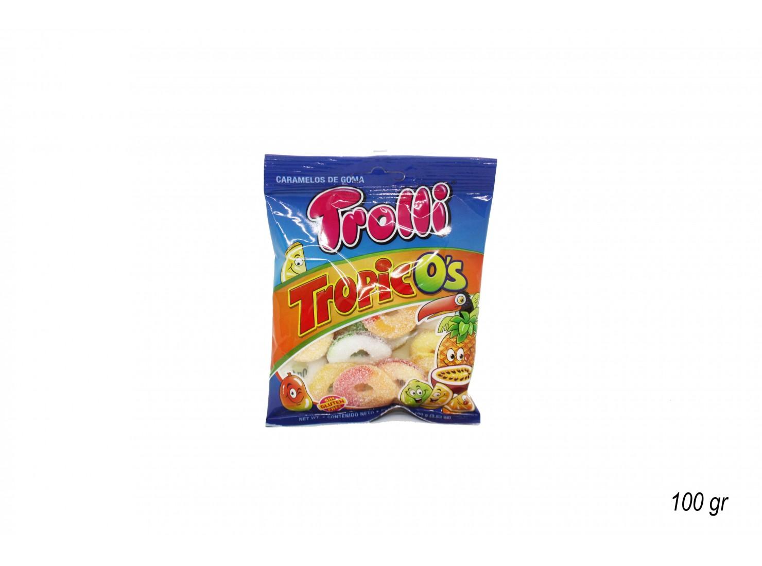 GOMMOSE TROPICOS 100 GR TROLLI