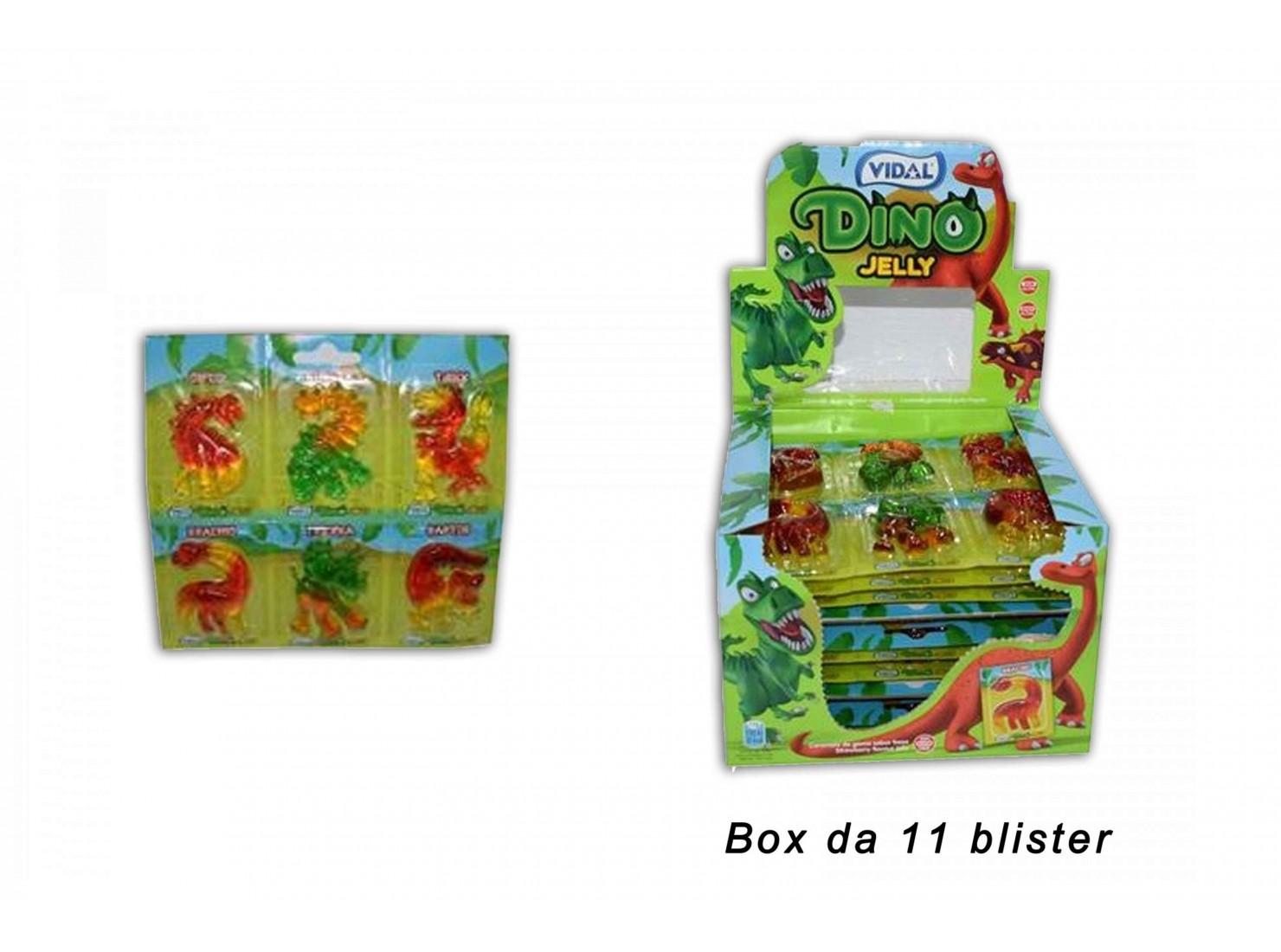CARAMELLE BOX 11 PZ DINO JELLY