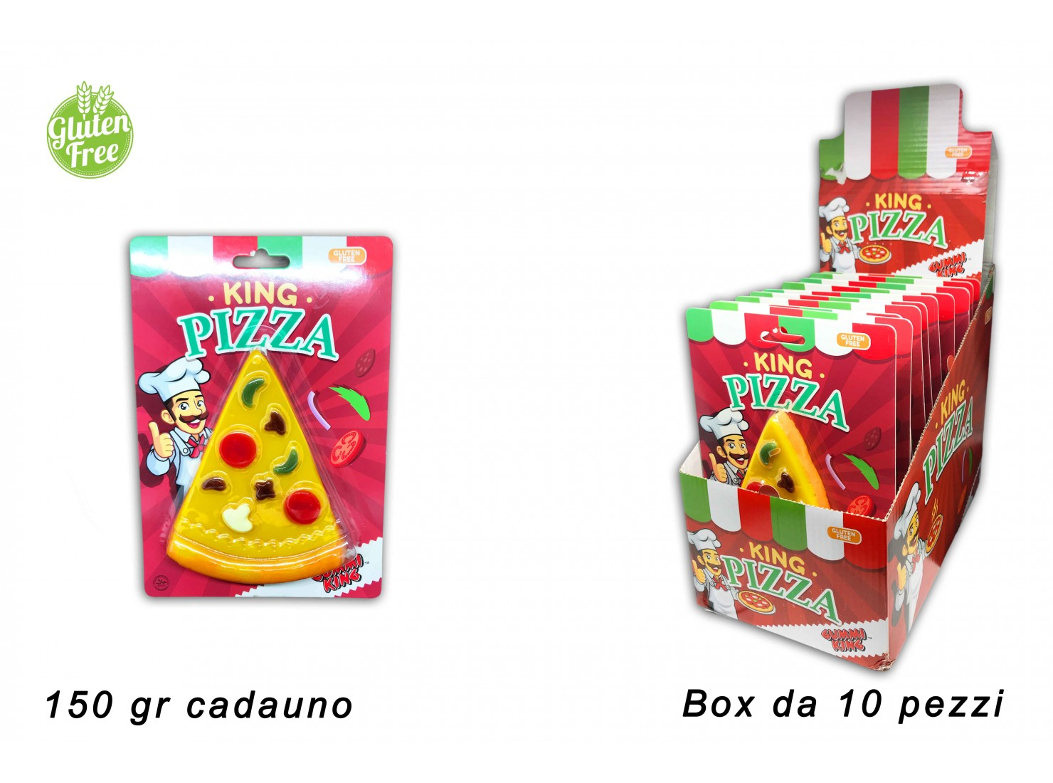 """""""PIZZA KING"""" 150 GR CANDY..."""