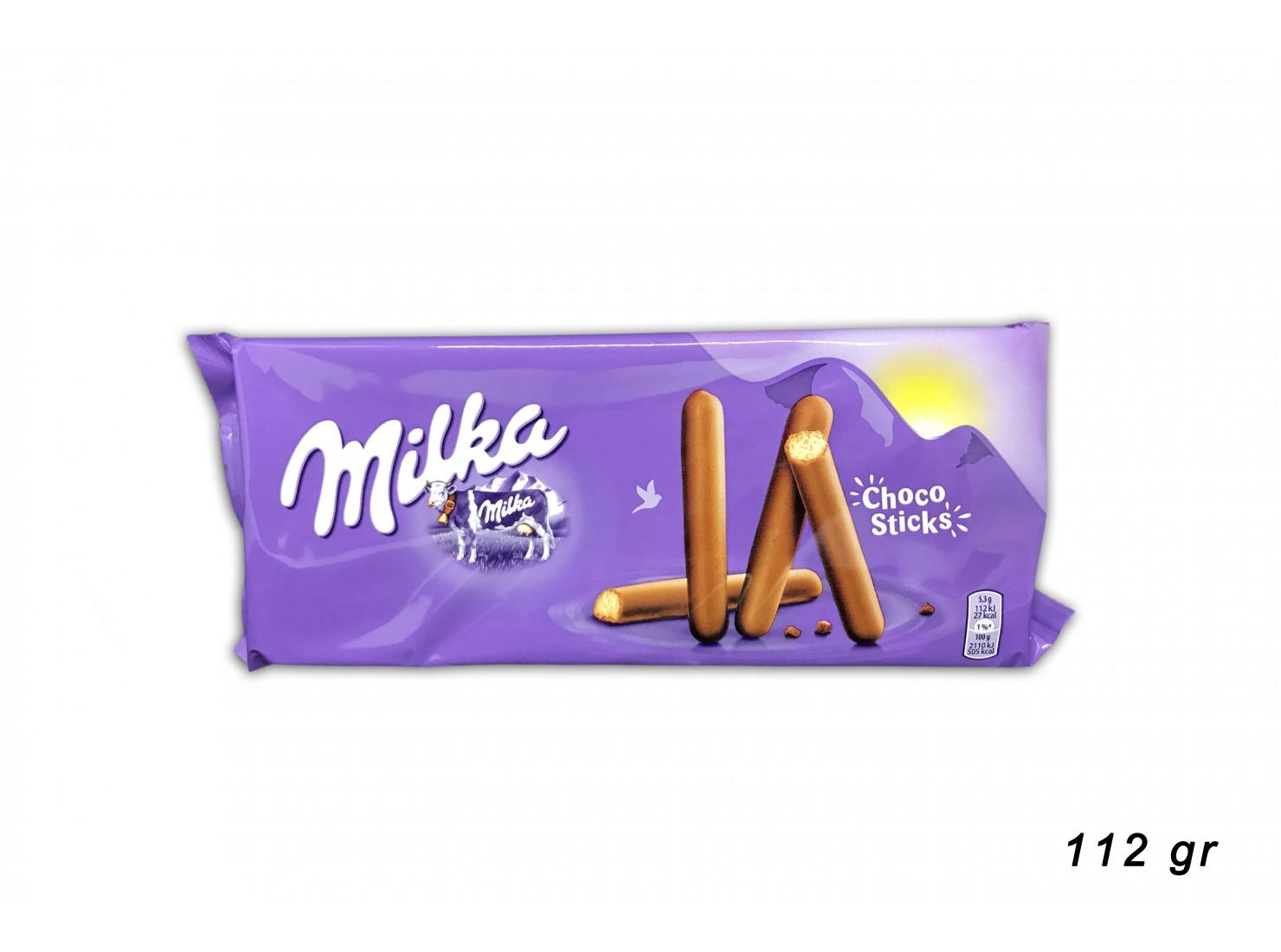 MILKA CHOCO STIKS 112 GR
