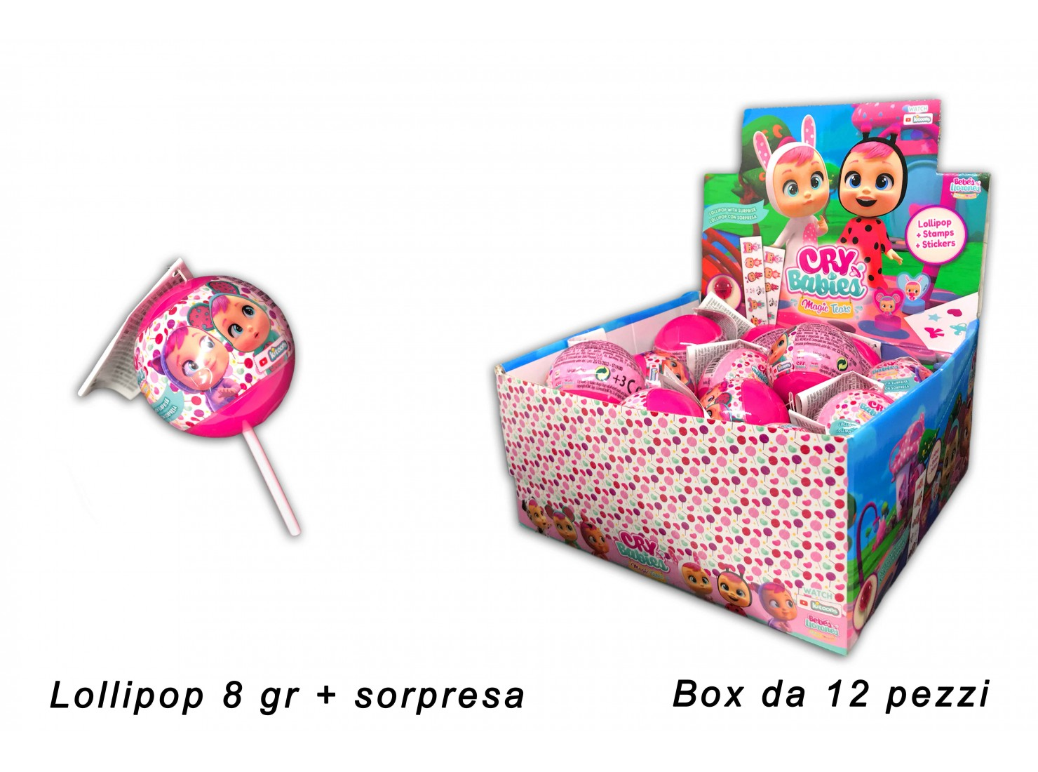 CRY BABIES LOLLYPOP BALL