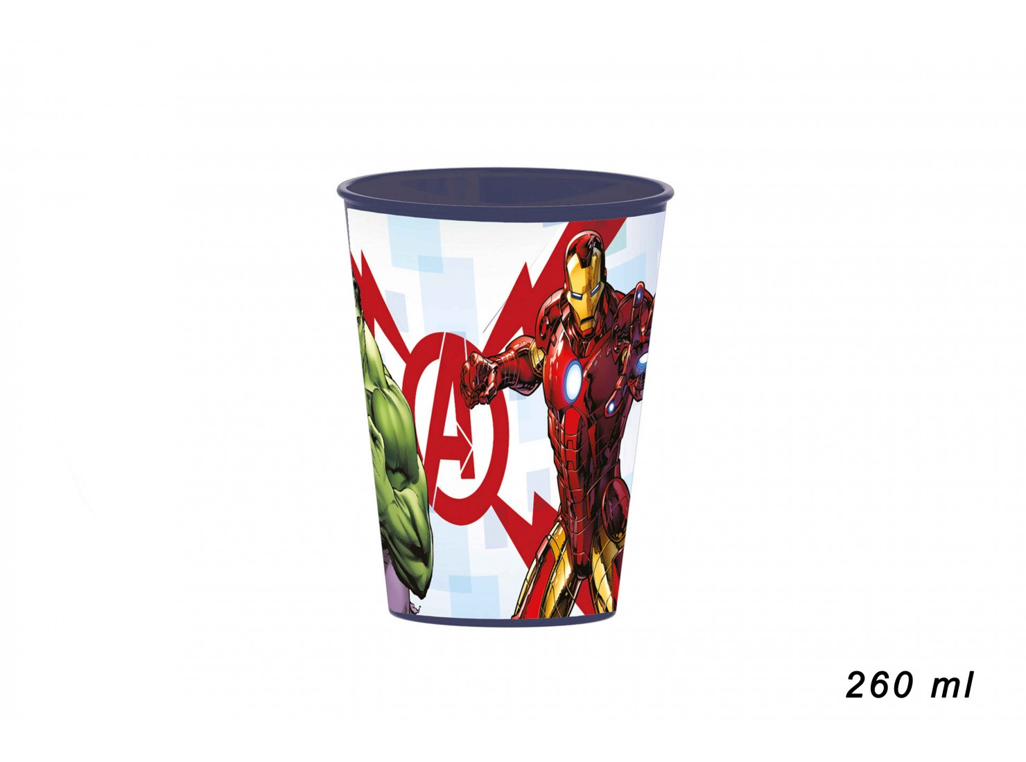 BICCHIERE AVENGERS 260 ML