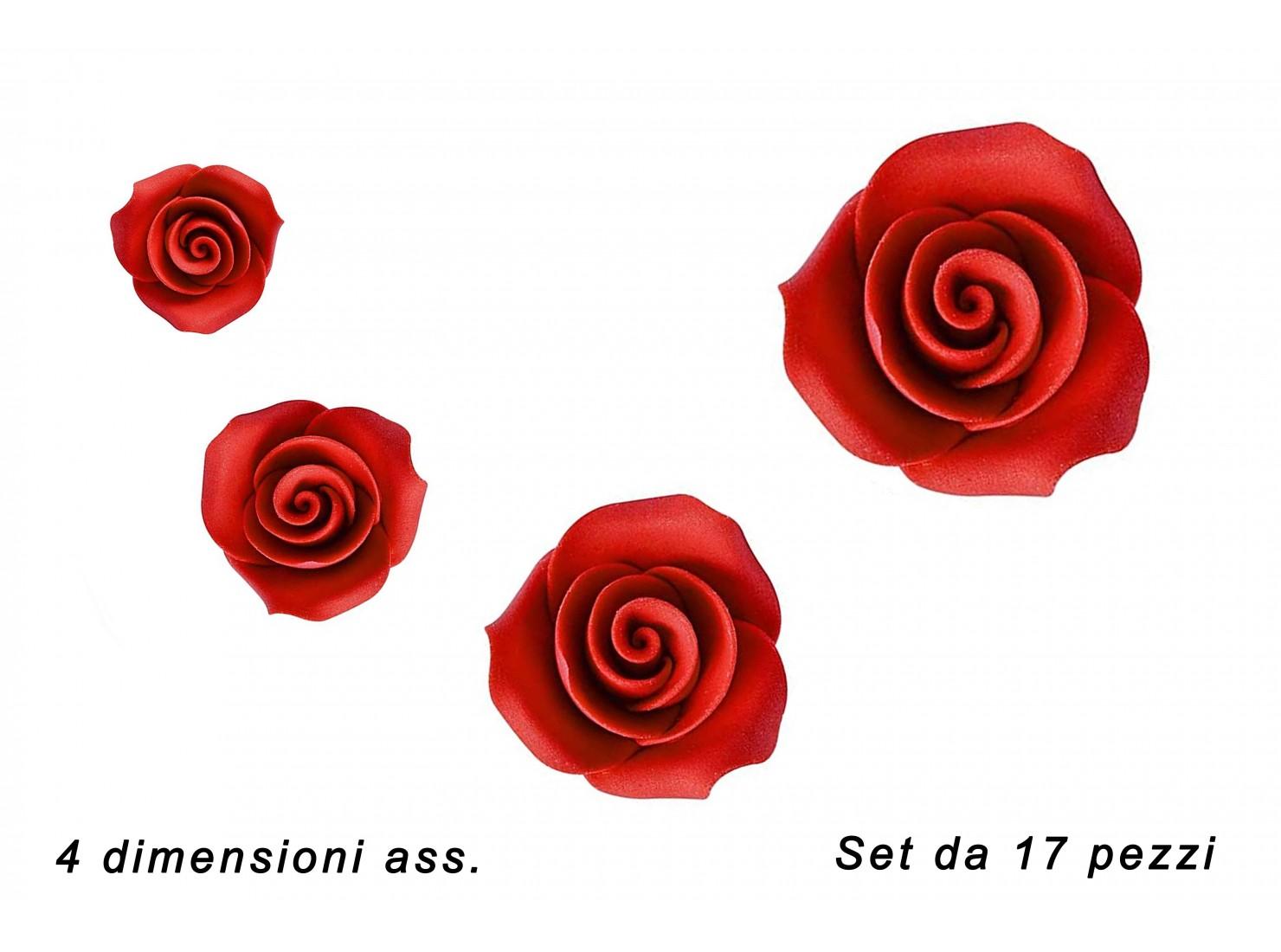SET ROSE ROSSE 17 PZ