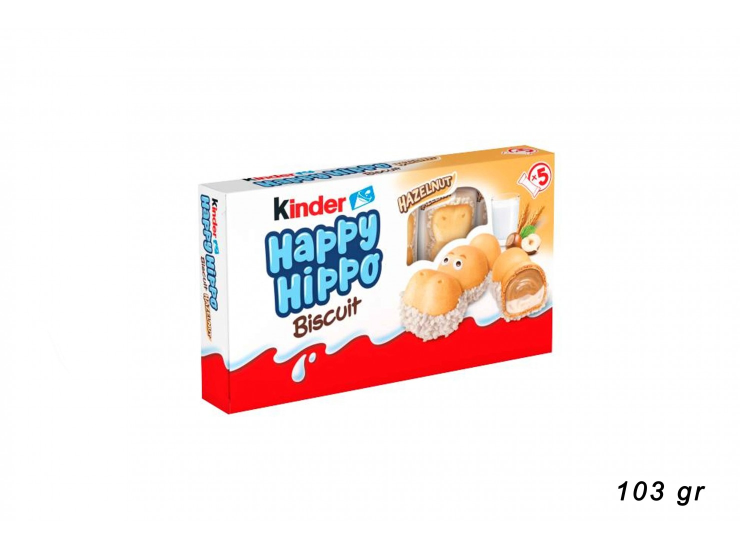 HAPPY HIPPO HALSENUSS 103...