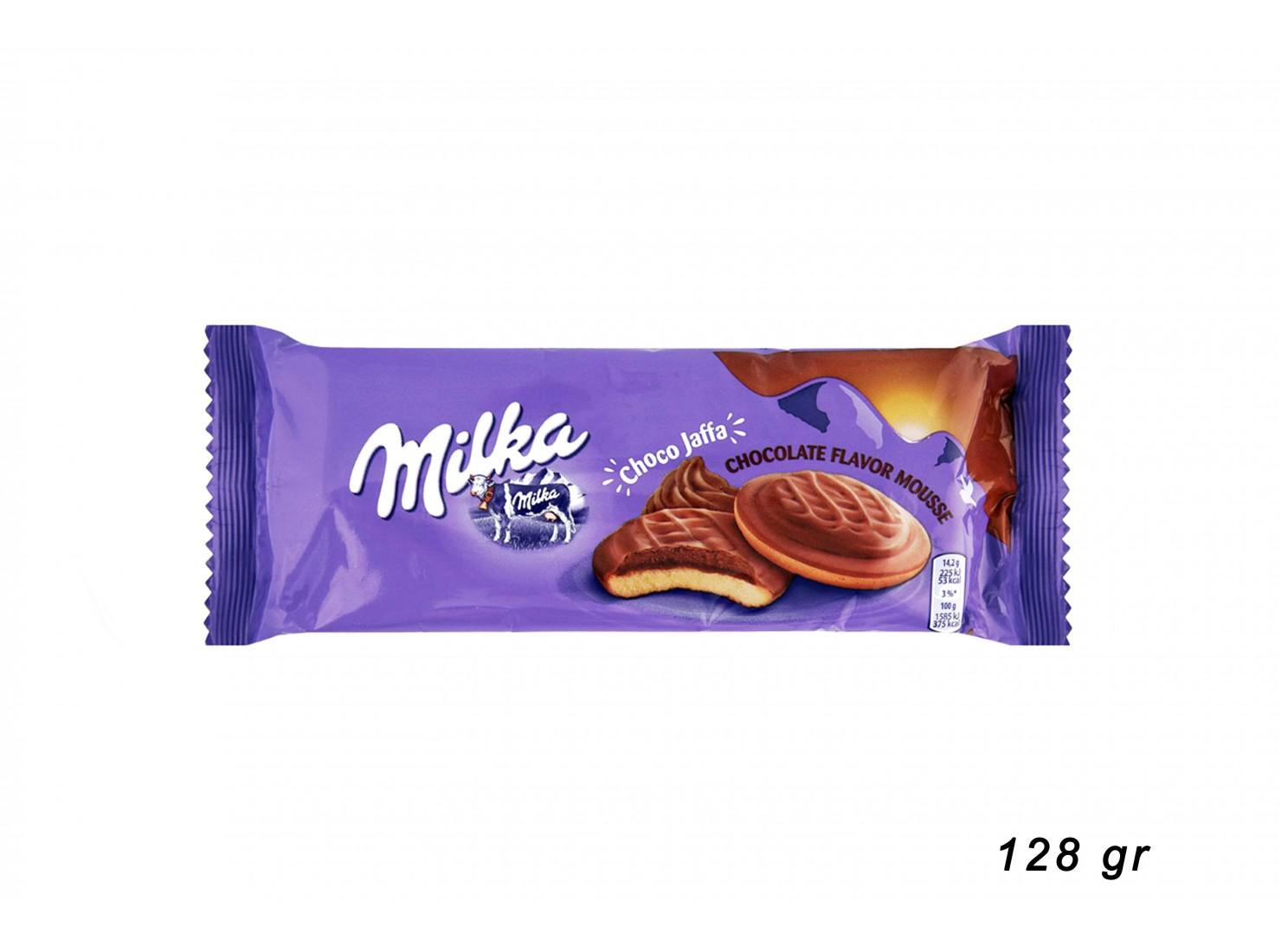 MILKA CHOCO JAFFA 128 GR