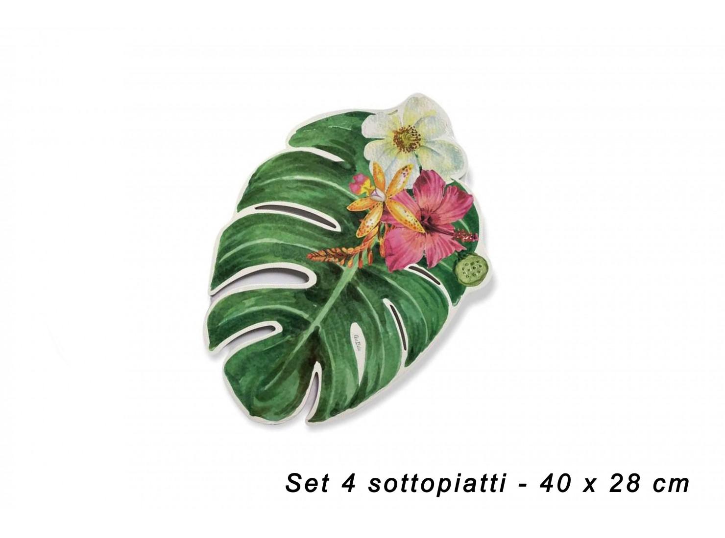 SET 4 SOTTOPIATTI - 40 X 28...