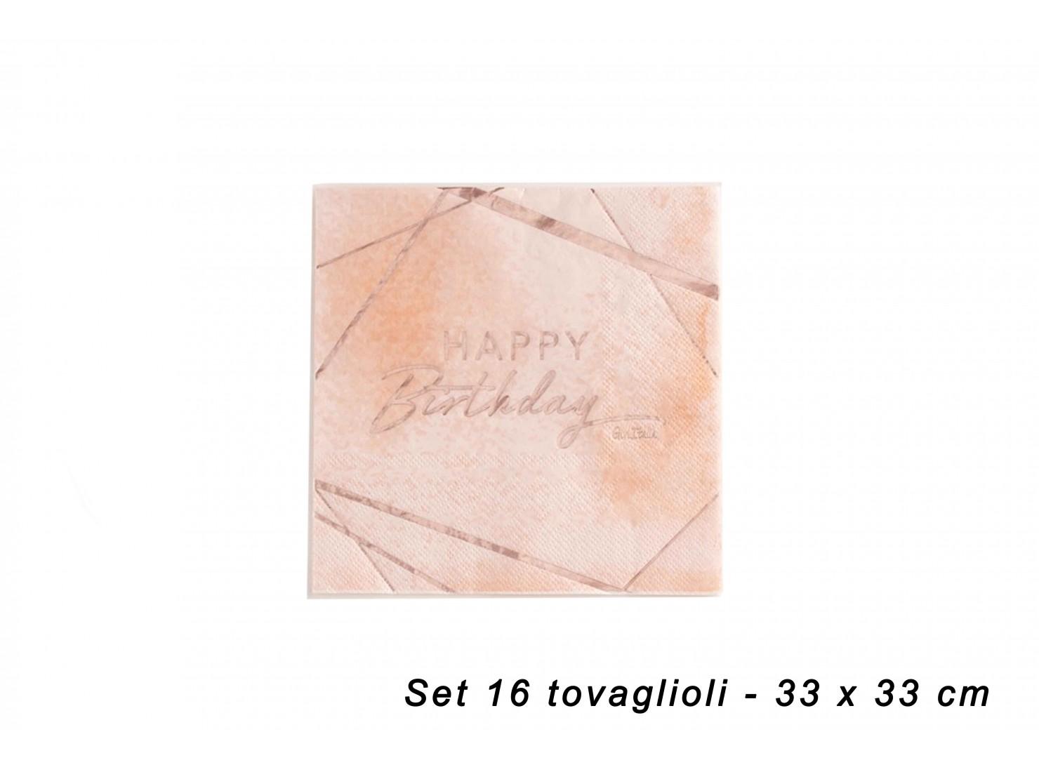 TOVAGLIOLI BIRTHDAY PINK 16...