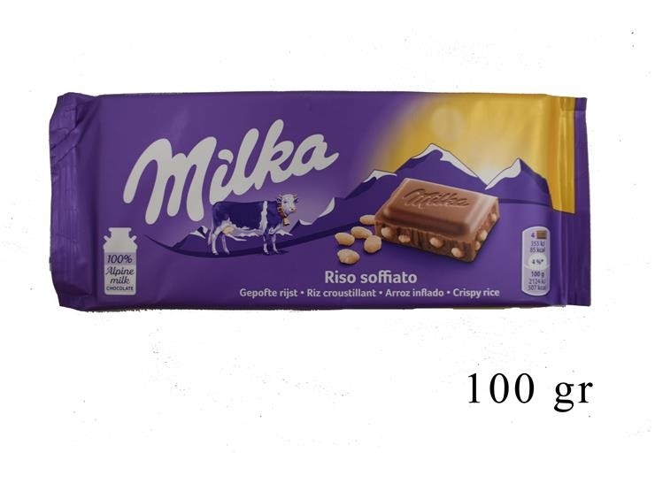 MILKA RISO SOFFIATO 100GR