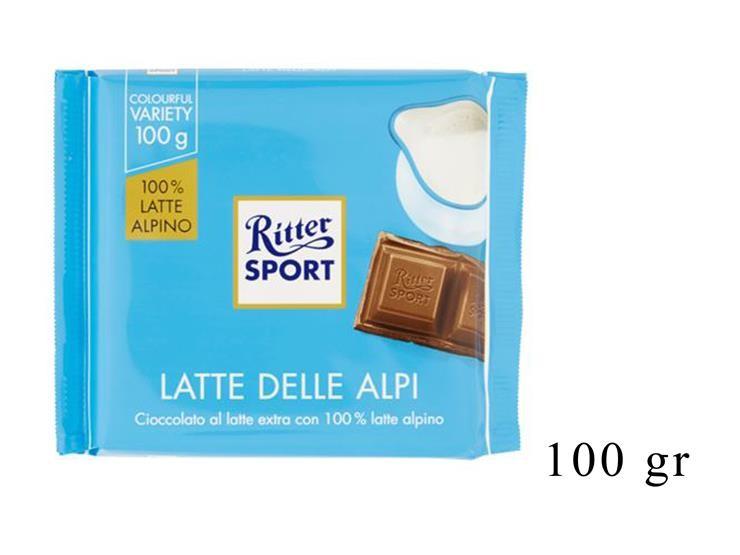RITTER SPORT LATTE 100GR@