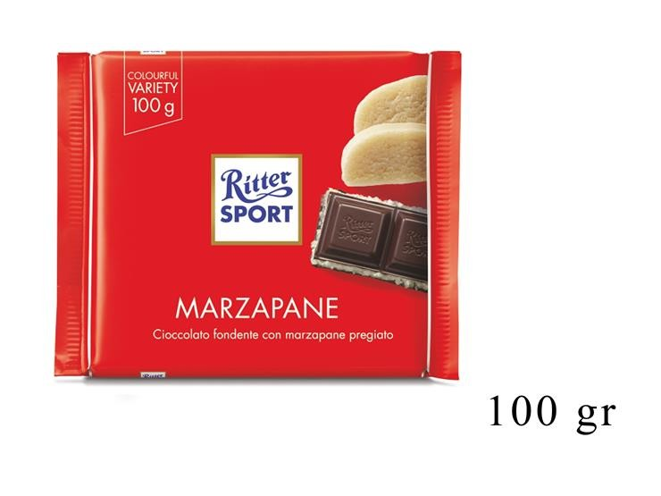 RITTER SPORT MARZAPANE 100GR@