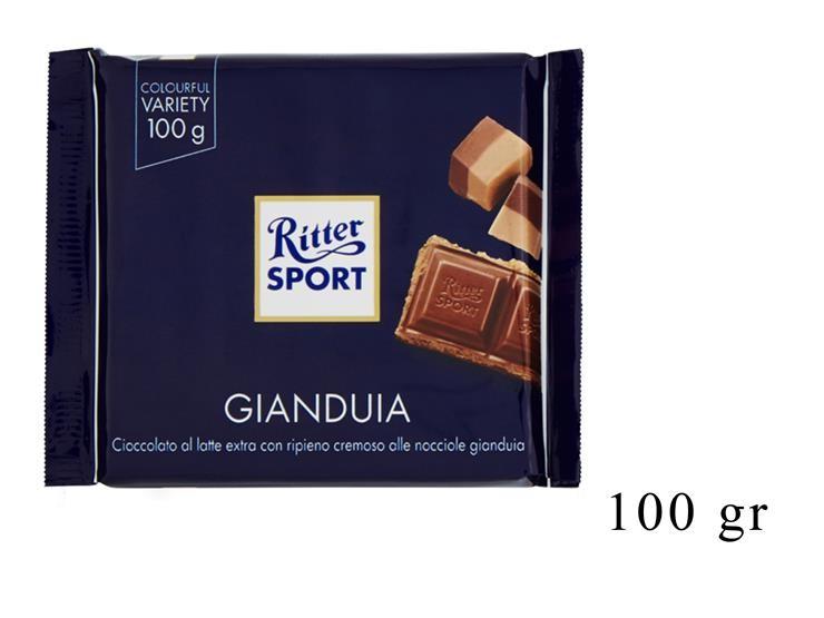 RITTER SPORT GIANDUIA 100GR@