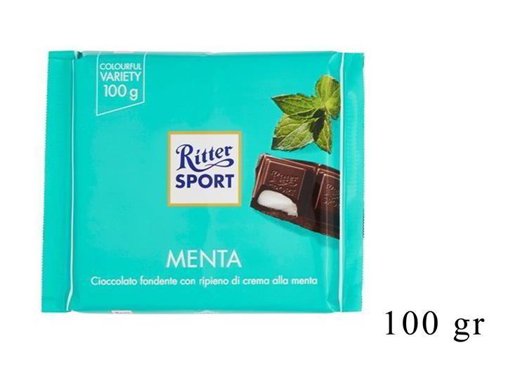 RITTER SPORT MENTA 100GR@