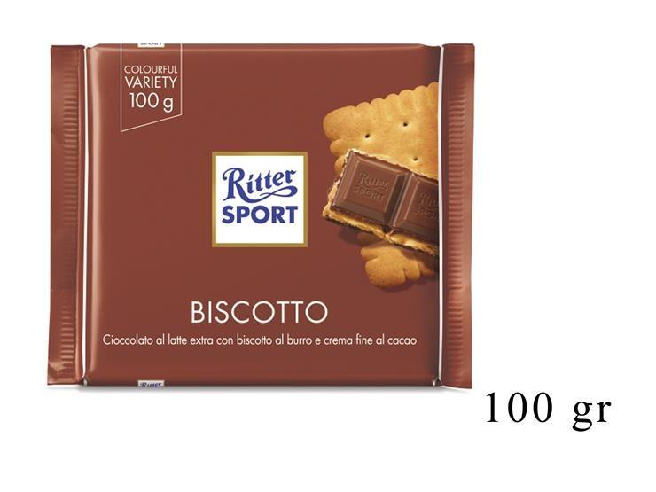 RITTER SPORT BISCOTTO 100GR@